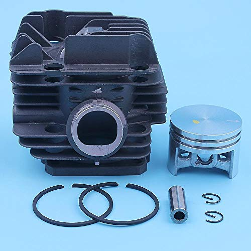 HOWWO KF-Ring Kit de Anillo de pistón de Cilindro de 40 mm Fit para STIHL 020T MS200 MS200T 020 MS 200 200T Motosierra 1129 020 1201,1129-020-1202 Piezas de Repuesto