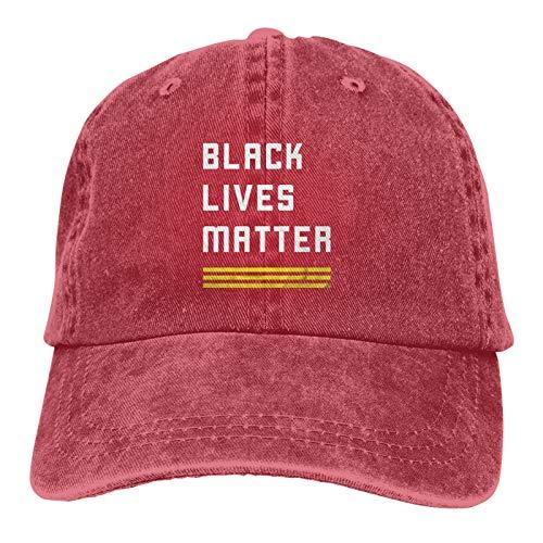 BoyNextDoor Black Live Matter - Gorra de béisbol ajustable, unisex, lavable, estilo hip hop, color rojo