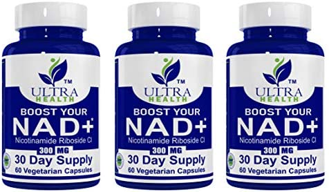 :: Best Price // Best Value :: Nicotinamide Riboside (NR) 300mg, Always Ships Same or Next Business Day - NAD+ Supplement, Ultra High Grade Pharmaceutical, Boosts NAD+.