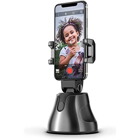 EWCover Universal Phone Gimbal Stabilizer 360 Degree Rotation Auto Face Tracking Smart Shooting Phone Holder