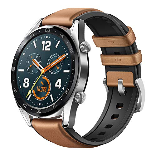 HUAWEI Watch GT Classic - GPS Smartwatch with 1.39' AMOLED Touchscreen, 2-Week Battery Life, 24/7 Continuous Heart Rate Monitor, Indoor and Outdoor Sports, 5ATM Waterproof (US Warranty)