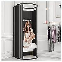 YYFANGYF 部屋を変える、 衣料品店試着室 屋外のシンプルなモバイル更衣室 衣料品店、ショッピングモール、オフィス (Color : Red, Size : 80X85X200CM)