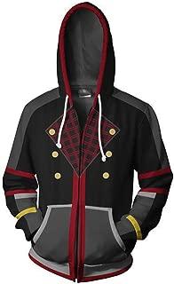 Autumn and Winter Kingdom Hearts 3D Printing Zipper Hoodie Cosplay Unisex Sweatshirt Men's Hooded Sportswear