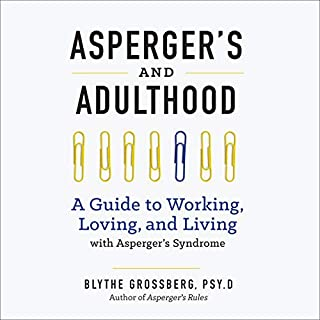 Asperger's and Adulthood audiobook cover art