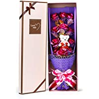 Awtion Never Wither Roses 24K Gold Leaf Rose Luxury Gift Box