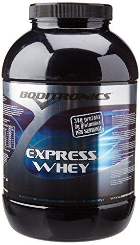 Boditronics Express Whey Protein Powder, 2kg Rich Chocolate