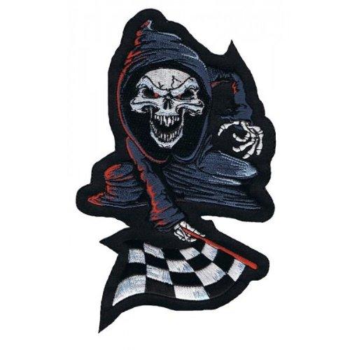 Lethal Threat Aufnäher / Aufbügler für Motorrad / Motorradjacke LT30084