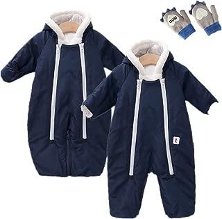 Baby Boys Girls Snowsuit Bunting Hooded Fleece Sleeping Bag