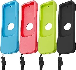 FineGood Custodia Protettiva per Apple TV 4 K 4th 5th Generation Siri telecomandi, 2 Pezzi in Silicone Antiscivolo Copertu...