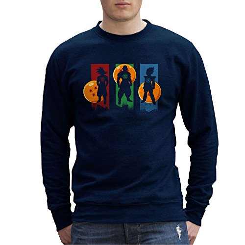 The Core Team Dragonball Z Goku Vegeta Piccolo Heren Sweatshirt