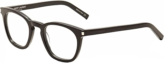 Saint Laurent Eyeglasses SL30 SL/30 001 Black/Transparent Optical Frame 49mm