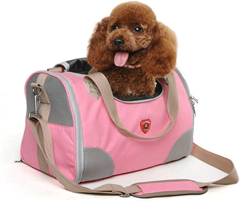Cat Bag pet Out Bag cat cage Portable Bag Shoulder Portable Dog Bag Space Bag Book Packaging cat Supplies (color   B)