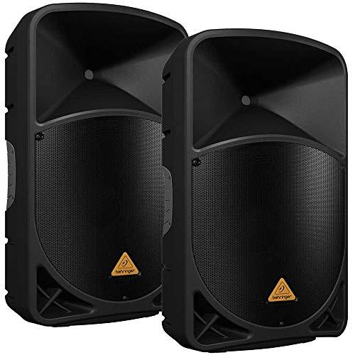Behringer B115D 15 in Powered PA Speaker Pair