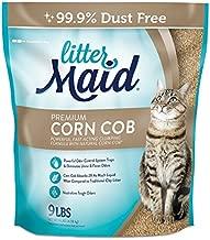 LitterMaid Premium Corn Cob Litter, 9 Pound Bag, Clumping Formula