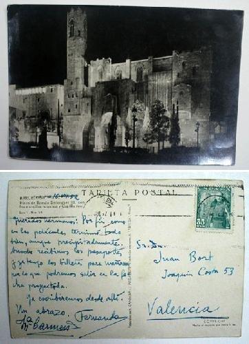 Antigua postal fotográfica. Old photo post card. Serie 1 Nº 59 -...