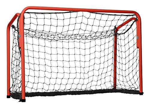 GSI 1 Floorball-Tor Unihockey Tor mit Federmechanismus, zusammenklappbar 60 x 90 cm, für Schule und Verein