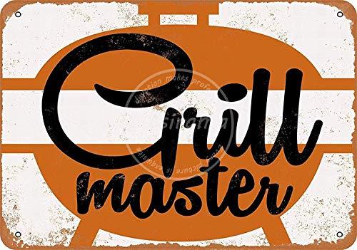 niet Grill Master Metalen tin teken schilderij decoratie Populaire IJzeren Schilderij Poster Voor bar cafe eetkamer huis club