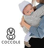 Coccole – Sac douillet pour nouveau-né | Porte-bébé mains libres | Tissu en coton extensible | Idée cadeau pour fête prénatale