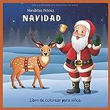 Navidad - Libro de colorear para niños - Mandalas felices (Año Nuevo 2020!)