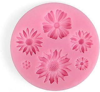 Elistelle Stampo 3D a forma di margherita per fondente in silicone per decorazioni torte