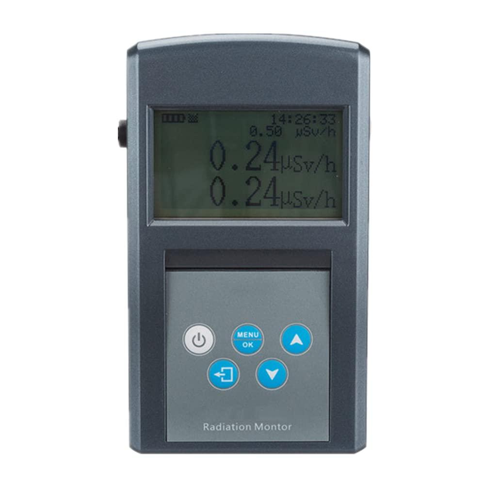 Riiai Digital Geiger Counter Radiation Many popular Max 82% OFF brands Dos Display LCD Detector