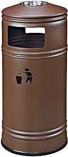 Bacs à Ordures Extérieurs Extérieur en métal Poubelle, Poubelle, Recyclage des ordures Poubelle avec cendrier, costume for...