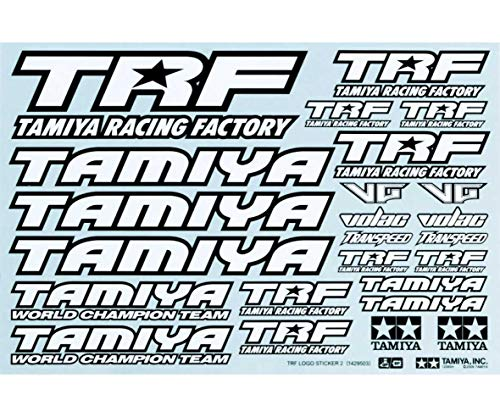 Tamiya TRF Sticker Sheet / Tamiya / 42164