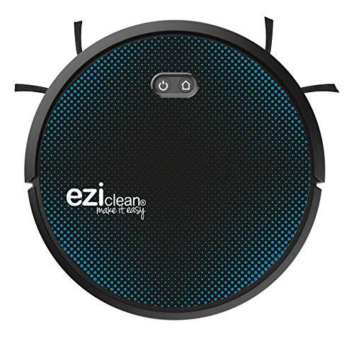 EZIclean Aqua Connect x550 – Robot aspirapolvere per lavatore collegato – Navigazione Navig+ – 55 dB – 120 m² – Nero