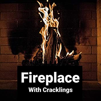 Warm Fire Fireplace with Crackling Loopable