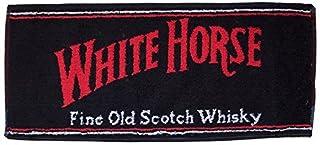 signs-unique Asciugamano da Bar Cotone Whisky White Horse