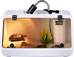 Reptile Feeding Cylinder - Amphibian, Acrylic Turtle Feeding Tank Habitat Container, Non-Deformable, Long-Lasting And Durable, Breathable Anti-Fighting
