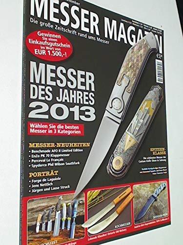 Messer Magazin Nr. 5 / 2012 Benchmade AFO II Limited Edition, EnZo PK 70 Klappmesser, Perceval Le Francais, Spyderco Phil Wilson Southfork. Zeitschrift, 4195012305505