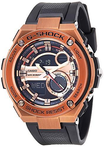 Casio Men's G-Shock GST210B-4A Black Rubber Quartz Sport Watch