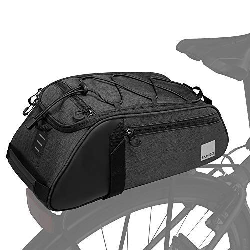 Roswheel Essentials Series 141466 Bike Trunk Bag Bicycle Rear Rack Pack Cycling Accessories Pannier,...