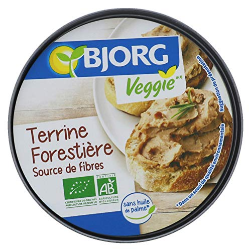 Bjorg Terrine Forestière Bio – Recette Veggie – 125 g