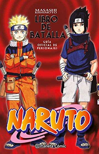 Naruto Guía nº 02 Libro de batalla: Guía oficial de personajes