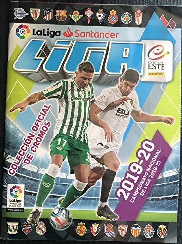 La Liga Santander- Liga Este 2019/2020 Álbum (Panini 003711SPEGGSS)