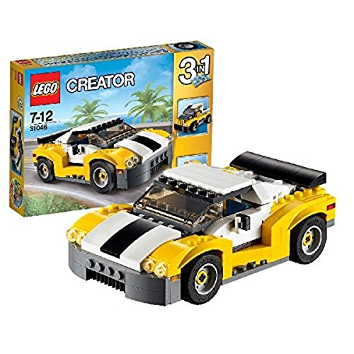Lego Creator 31046 - Auto Sportiva, Gialla