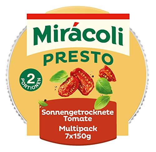 MIRÁCOLI Presto Sonnengetrocknete Tomate, 7 Packungen (7 x 150g)