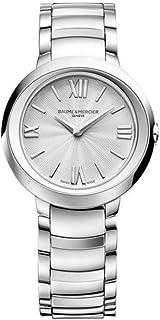 Baume & Mercier - Baume&Mercier Reloj Analógico para Mujer de Cuarzo con Correa en Acero Inoxidable M0A10157
