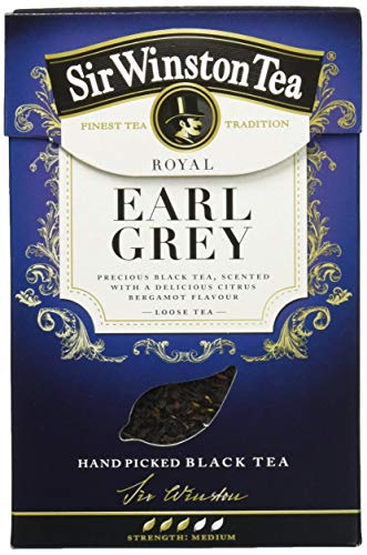 SIR WINSTON Royal Earl Grey, 4er Pack (4 x 100 g)