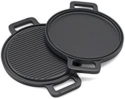 EurKitchen Griddle and Grill Pan