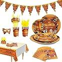 78-Pieces Chokeberry Halloween Party Supplies