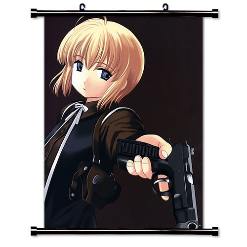 Gunslinger Girl Anime Fabric Wall Scroll Poster (32' x 42') Inches