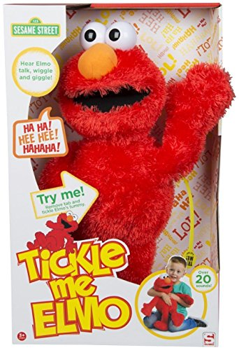 123 Sesame Street, 18 '' Tickle Me Elmo Laughs & Giggle's