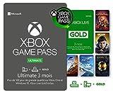 Abonnement Xbox Game Pass Ultimate | 3 Mois | Xbox Live Gold est inclus dans l'abonnement 3 Mois | Xbox & Win 10 PC - Code jeu à télécharger