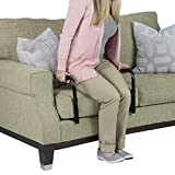 Vive Stand Assist - Mobility Standing Aid Rail for Couch, Chair - Assistance Handle for Patients, Elderly, Seniors and Disabled - Safety Grab Bar for Sitting, Sofa, Home - Adjustable, Portable Device