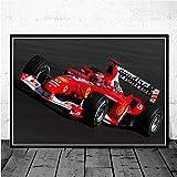 MZCYL Leinwand Malerei Wandkunst Bild Michael Schumacher