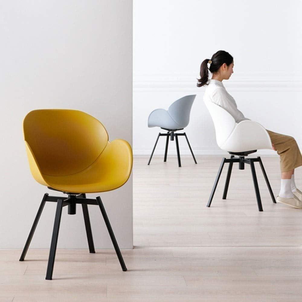 HYL Chaises de Salle à Manger Chaise Chaise pivotante Chaise Accoudoirs Moderne Minimaliste Bureau Casual for discuter de Maison Chaise (Color : D) D