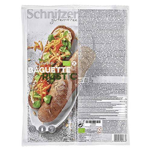 Schnitzer Bio Baguette rustic 360g glutenfrei